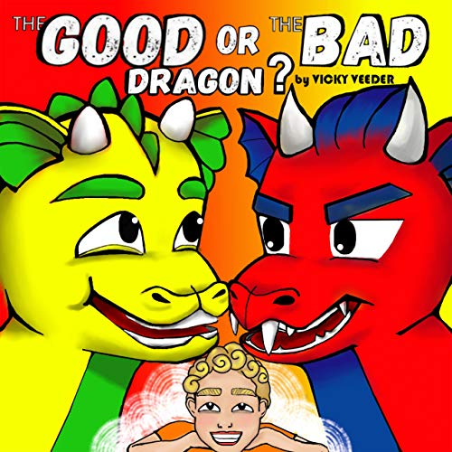 The GOOD or the BAD dragon by Vicky Veeder, SerrAndy
