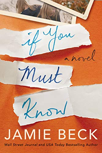 If You Must Know: A Novel (Potomac Point Book 1) by Jamie Beck
