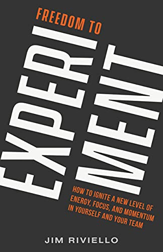 Freedom to Experiment: How to Ignite a New Level of Energy, Focus, and Momentum in Yourself and Your Team by Jim  Riviello